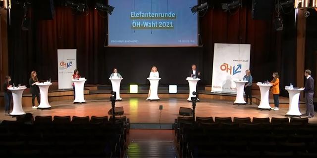 ÖH Debatte mit Armin Wolf