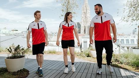 Jakob Schubert, Bernadette Graf und Lukas Weisshaidinger