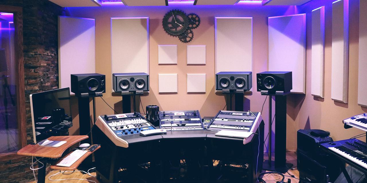 leeres Aufnahmestudio