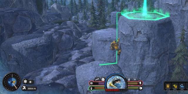 Screenshot aus dem Game Insurmountable