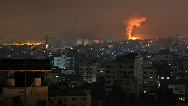 Explosion in Beit Lahia im nördlichen Gaza Streifen