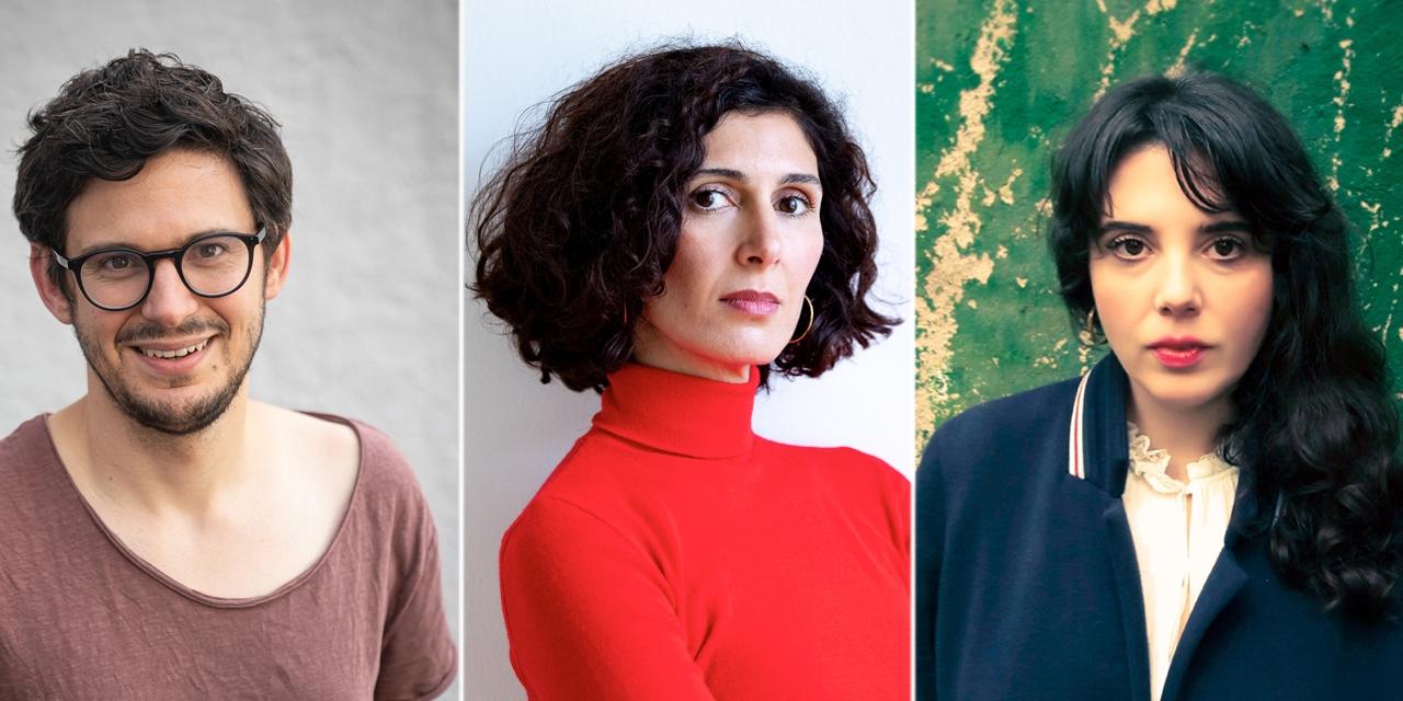 Wortlautjury: Matthias Gruber, Nava Ebrahimi, Marjana Gaponenko