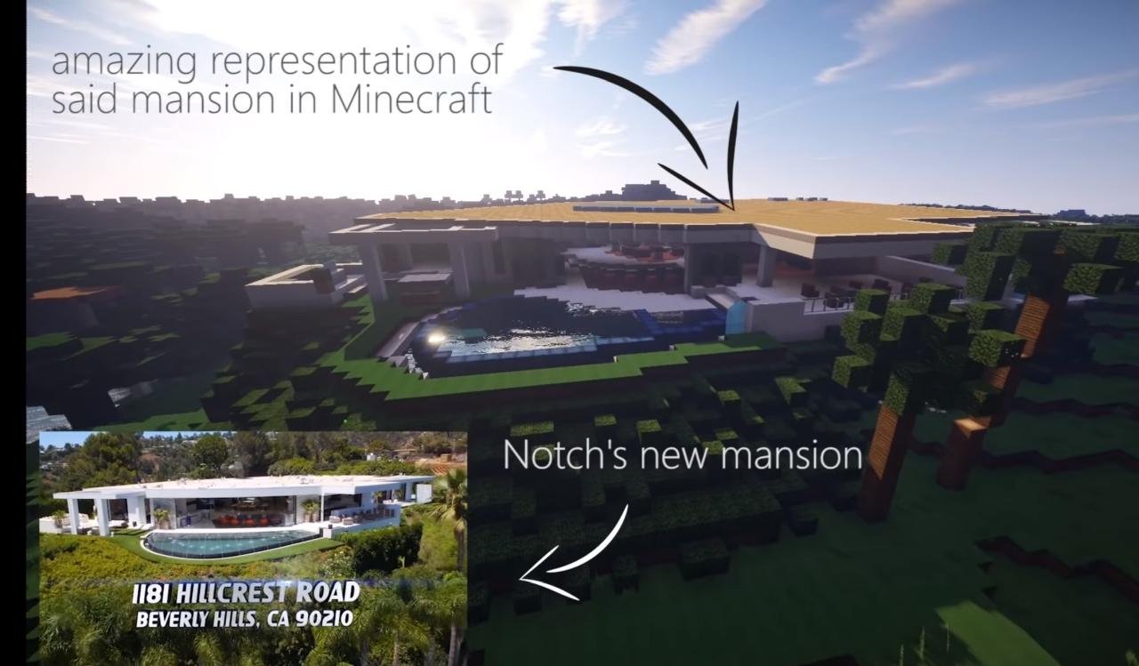 Notchs Villa in Minecraft
