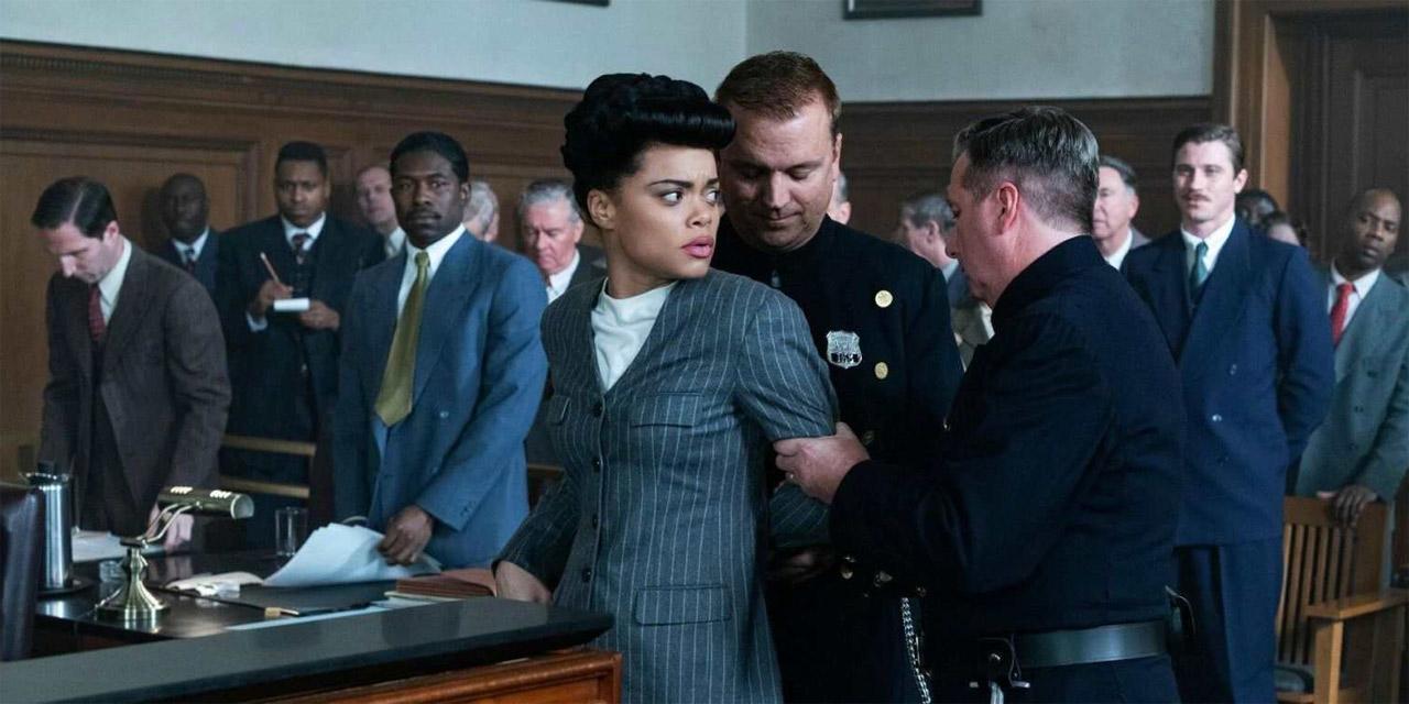 "Filmstills aus ""The United States vs Billie Holiday"""