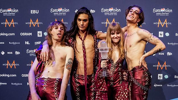 Song-Contest-Gewinner Maneskin