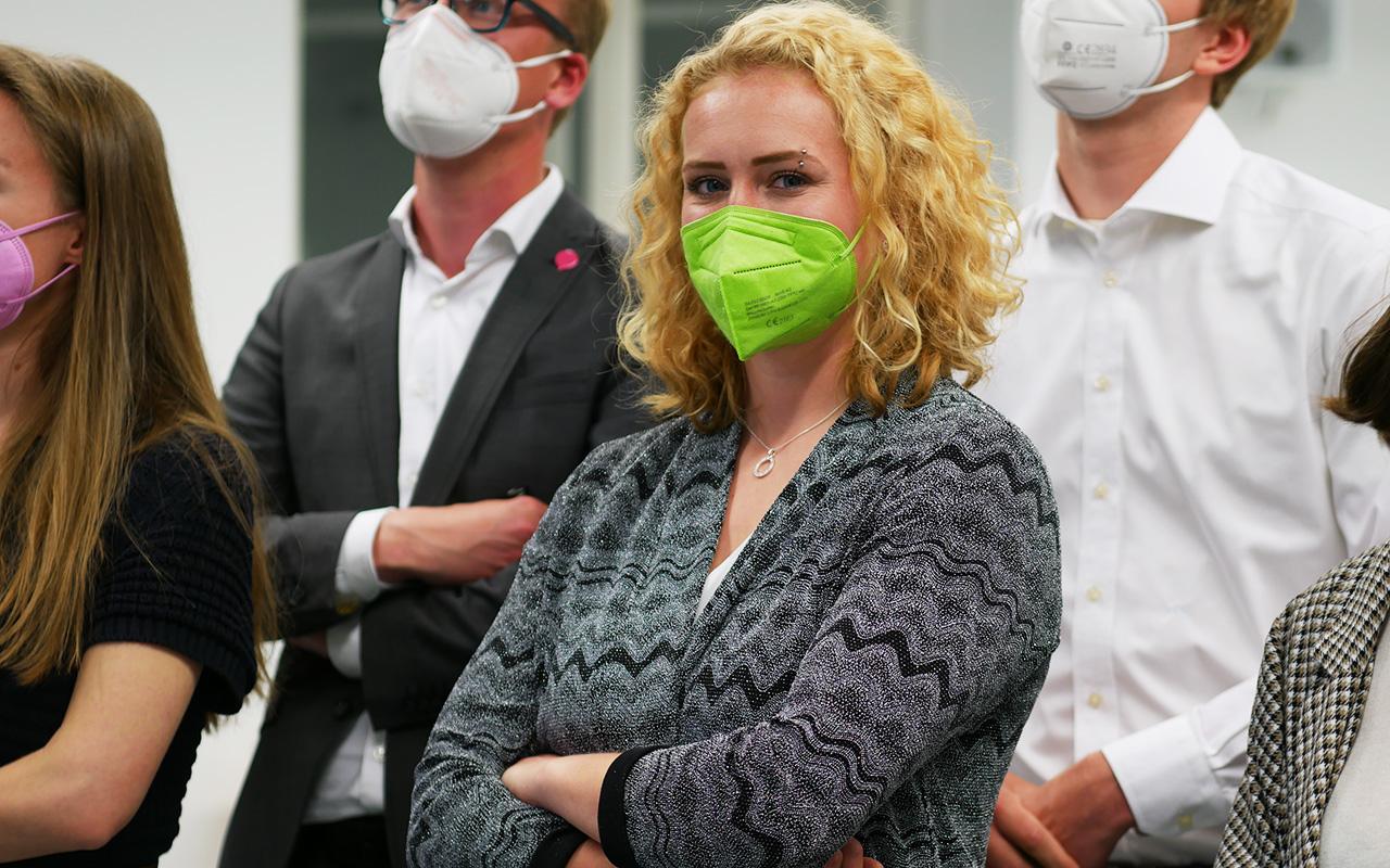 GRAS-Kandidatin Keya Baier