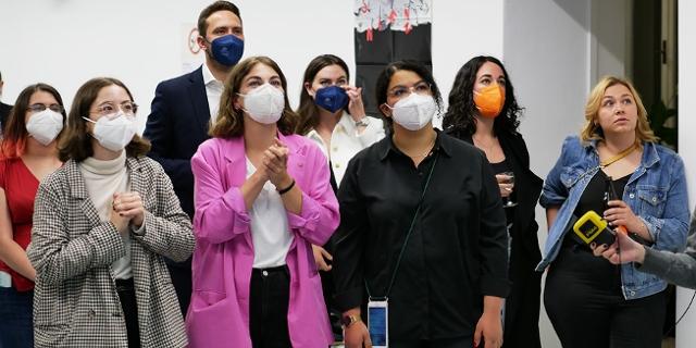 Bild vom ÖH-Wahlabend