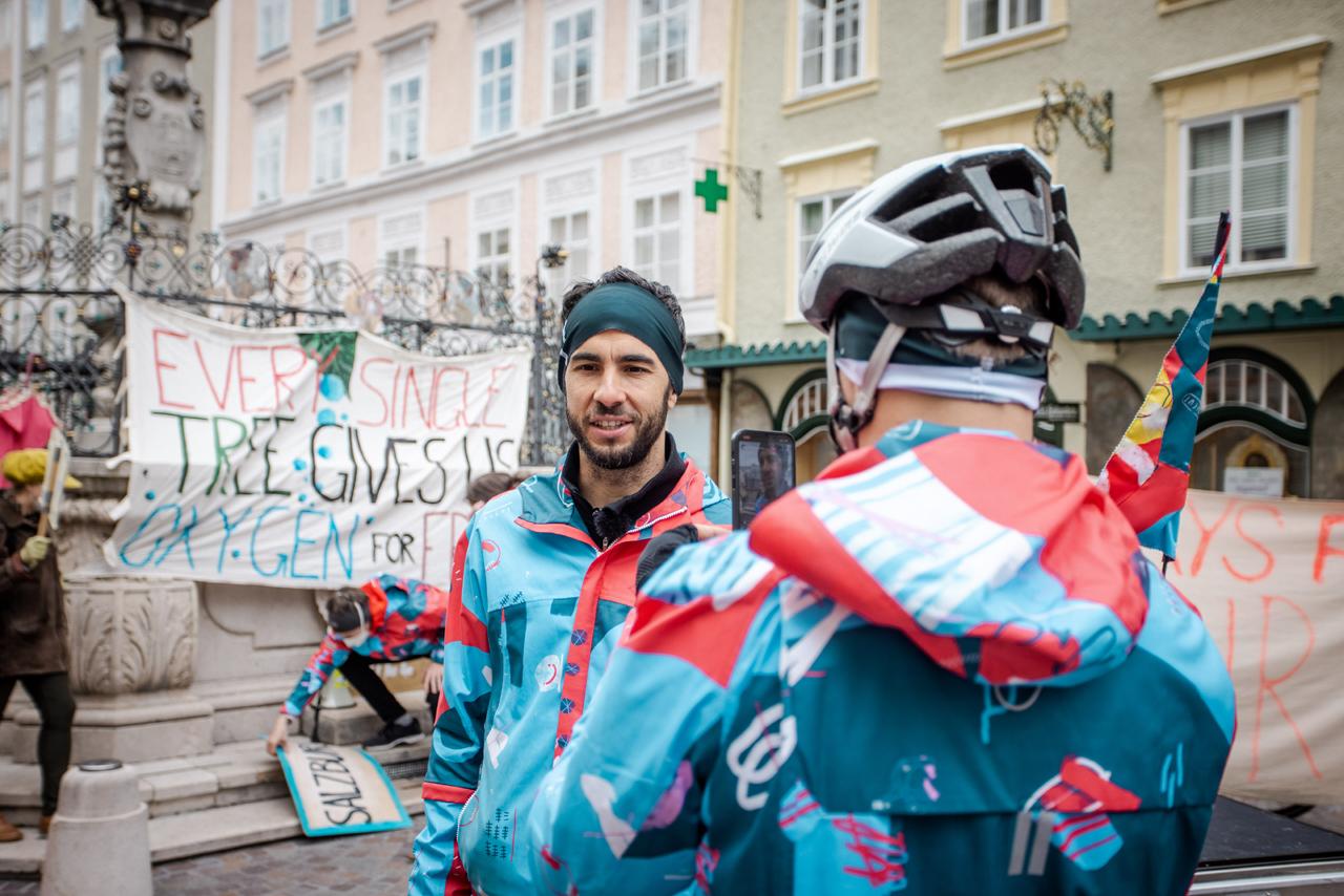 Manu Delago's Recycling Tour in Salzburg