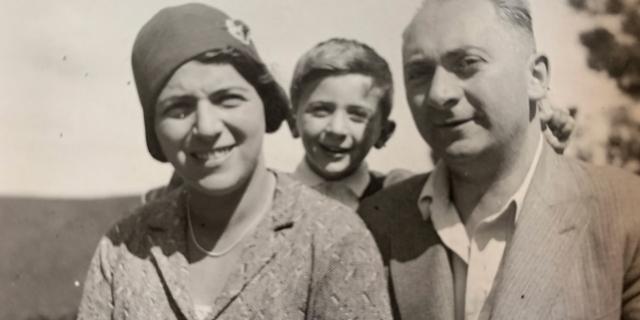 Photos of Julian Borger's family