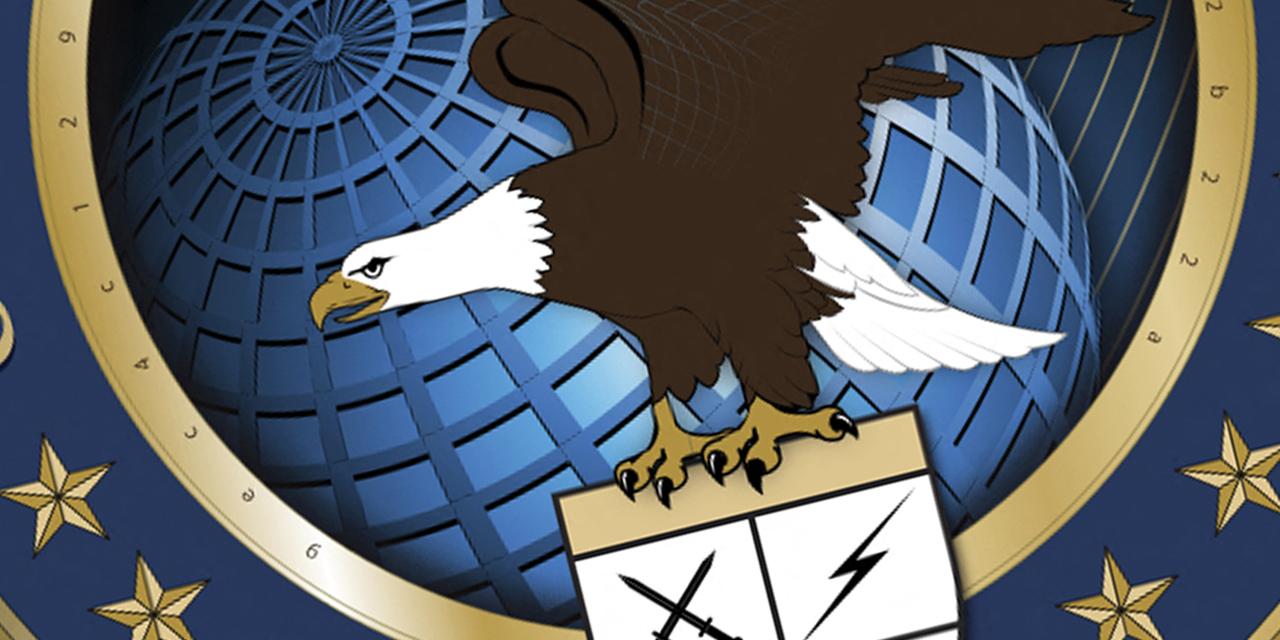 Logo von US Cyber Command mit Adler
