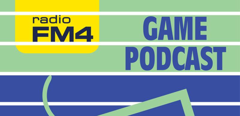 Logo des FM4 Game Podcast (angeschnitten)