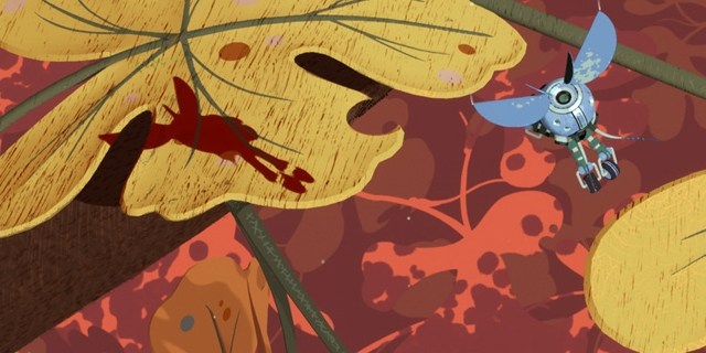 "Bildschirmfoto aus dem Computerspiel ""Stonefly"""
