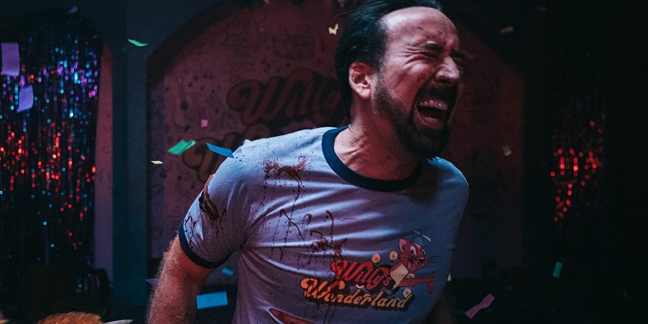 Willy's Wonderland, Nicolas Cage