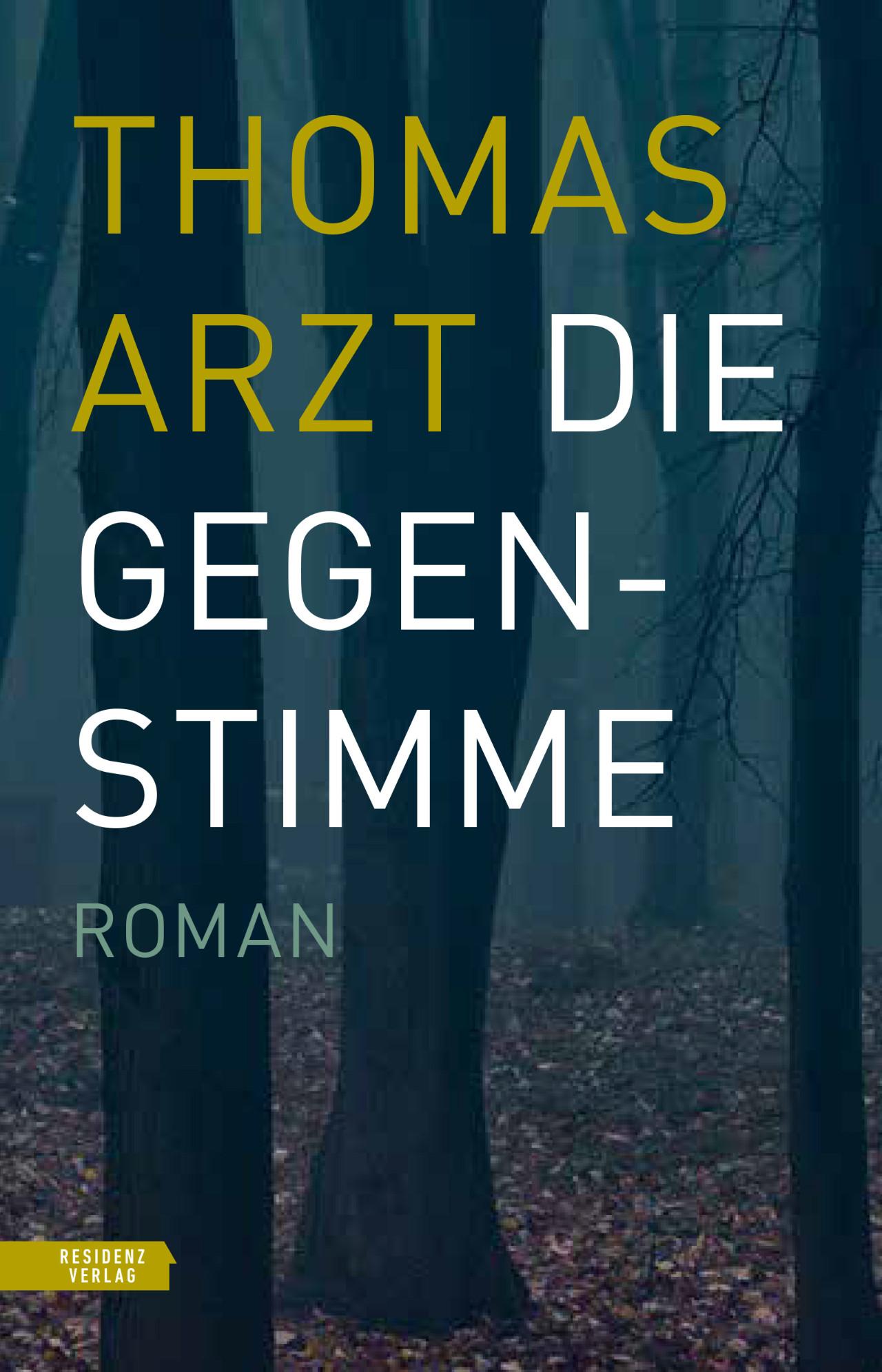 """Cover vom Roman """"Die Gegenstimme"""""""
