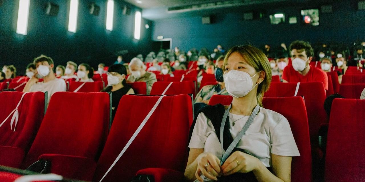 Publikum auf der Diagonale im Kino 2021.