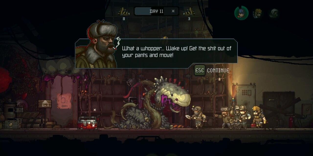 """Bildschirmfoto vom Computerspiel """"Until We Die"""""""