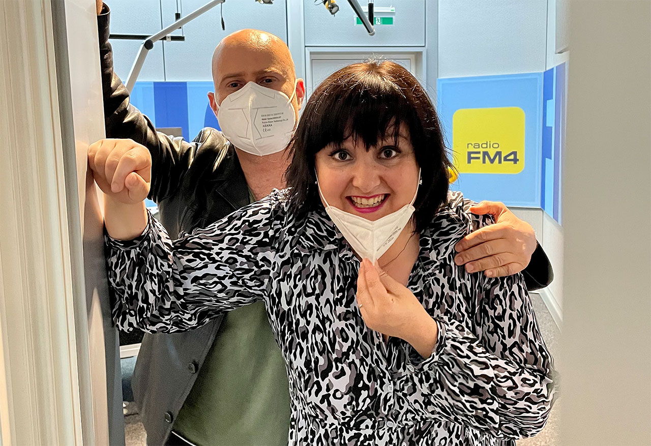 Eva Deutsch und David Pfister alias Sonja und Bernd