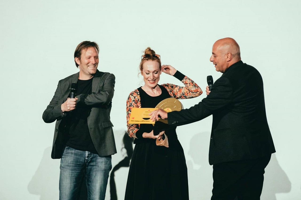 Tizza Covi und Rainer Frimmel bekommen einen Preis direkt im Kino.