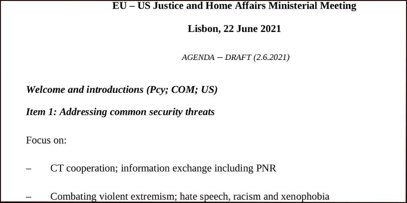 Screenshot Tagesordnung/Programm
