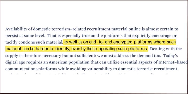 Screenshot von White House Paper