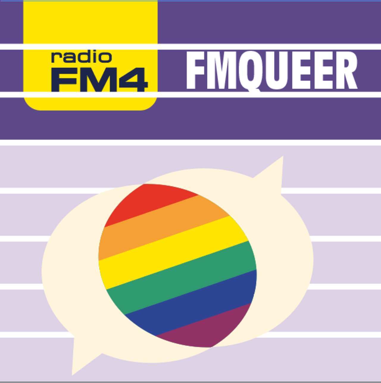 Cover FMqueer Podcast