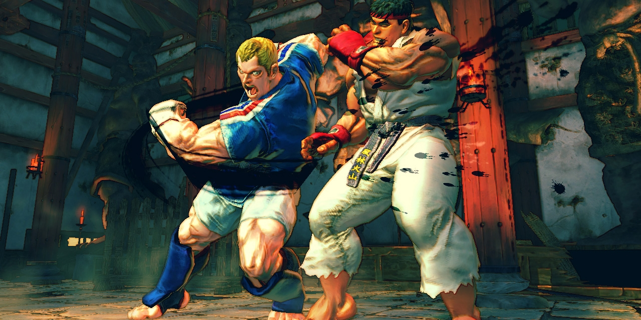 """Artwork aus dem Computerspiel """"Street Fighter IV"""""""