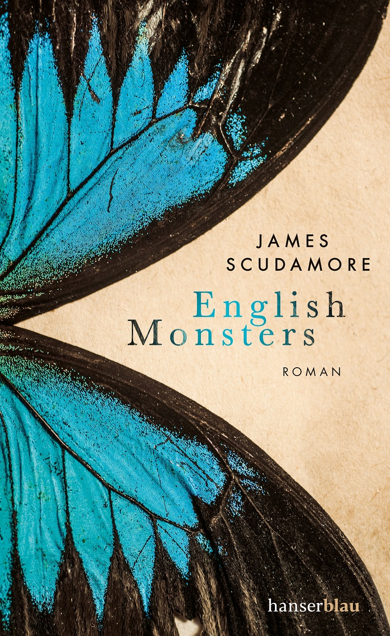 """Buchcover James Scudamore """"English Monsters"""""""