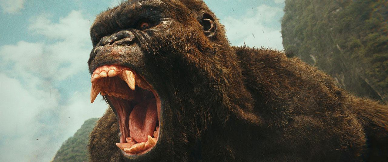 Filmstills aus Godzilla vs. Kong