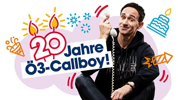 Gernot Kulis ist der Ö3-Callboy