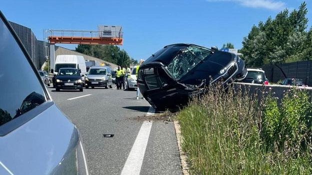 Unfall Salzburg Autobahn