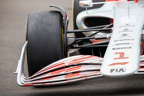 Formel-1-Auto der Saison 2022