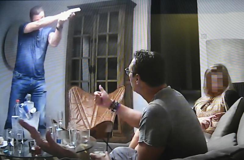 Screenshot aus dem Ibiza-Video