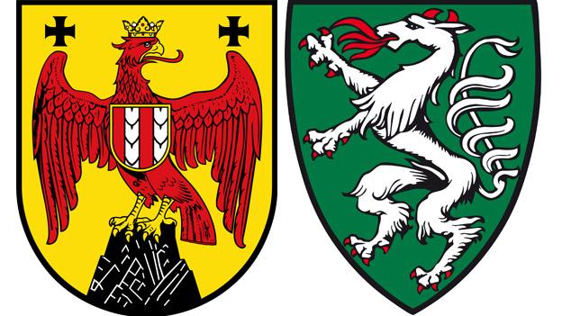 Landeswappen Burgenland Steiermark
