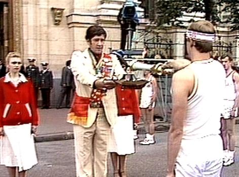 Eröffnung Olympia in Moskau 1980