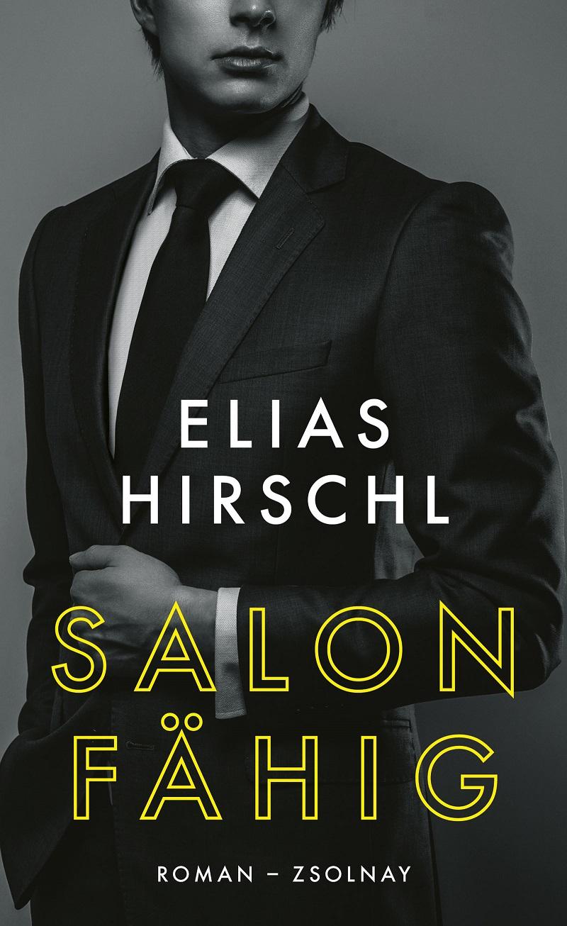 """Buchcover Elias Hirschl """"Salonfähig"""""""