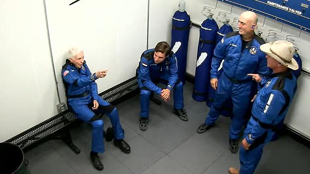 Jeff Bezos und sein Team