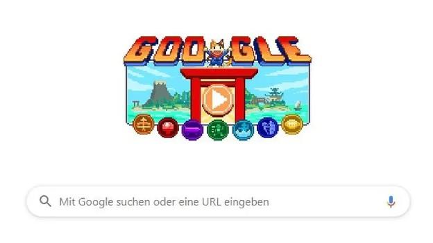 Google-Doodle bringt 7 Retrogames für Olympia