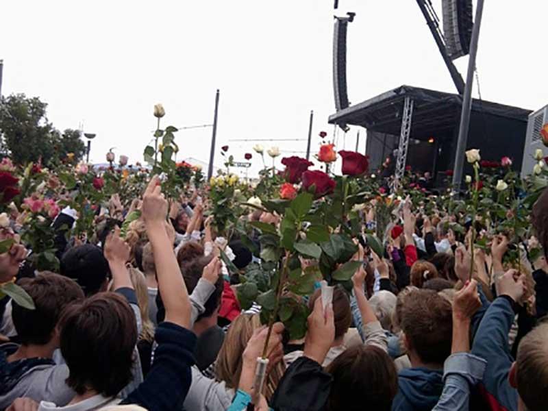 Gedenkfeier Anschläge in Oslo