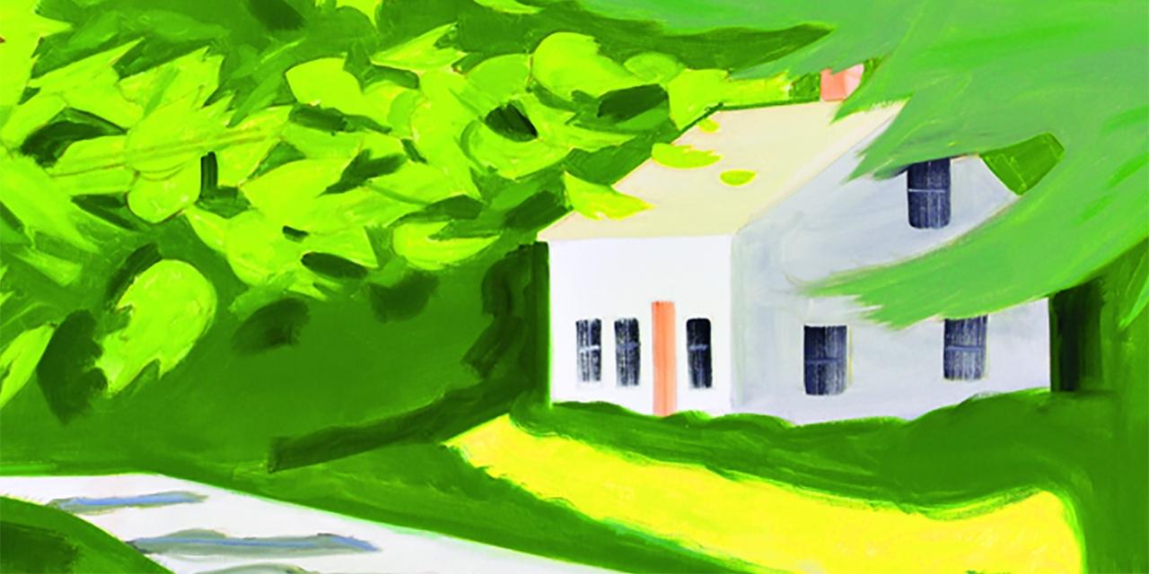 Buchcover: Ein Haus mitten im Grünen