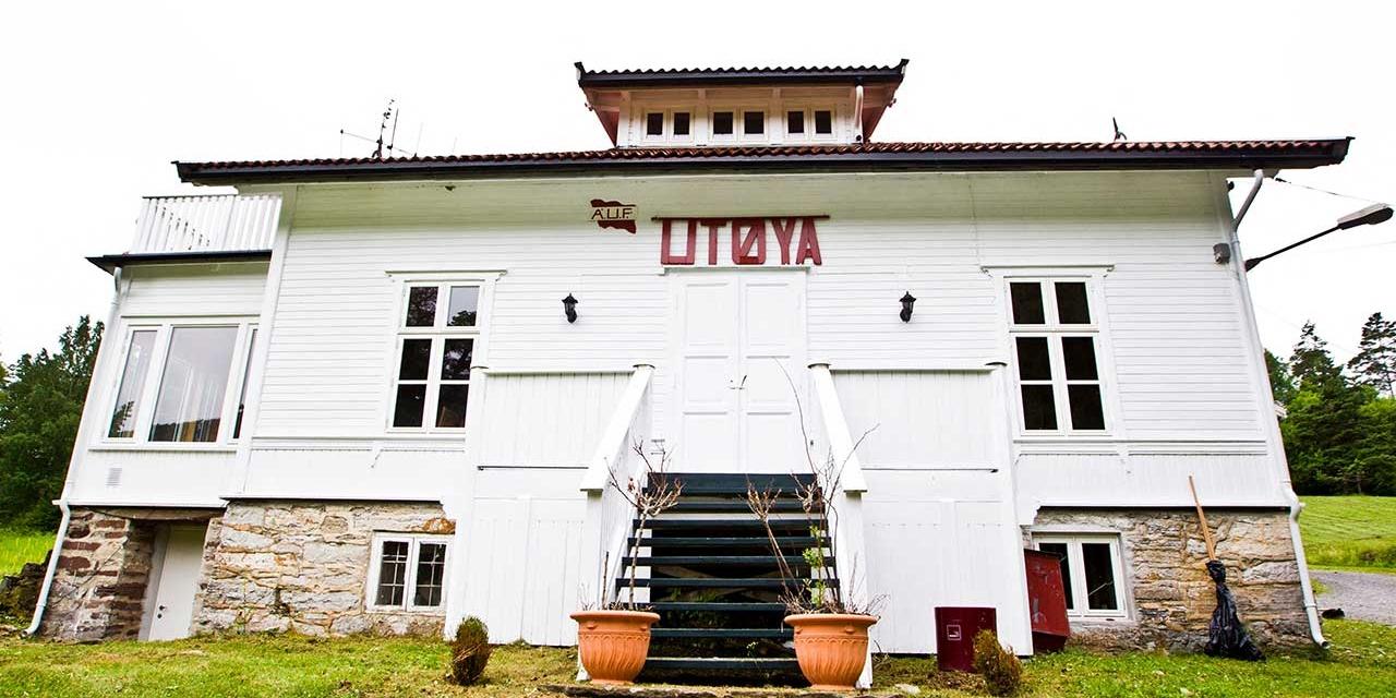 Gebäude auf Insel Utoya
