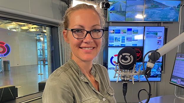 Rechtsanwältin Dr. Margot Nusime im Ö3-Studio