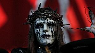 Joey Jordison der Gründungsschlagzeuger der Band Slipknot