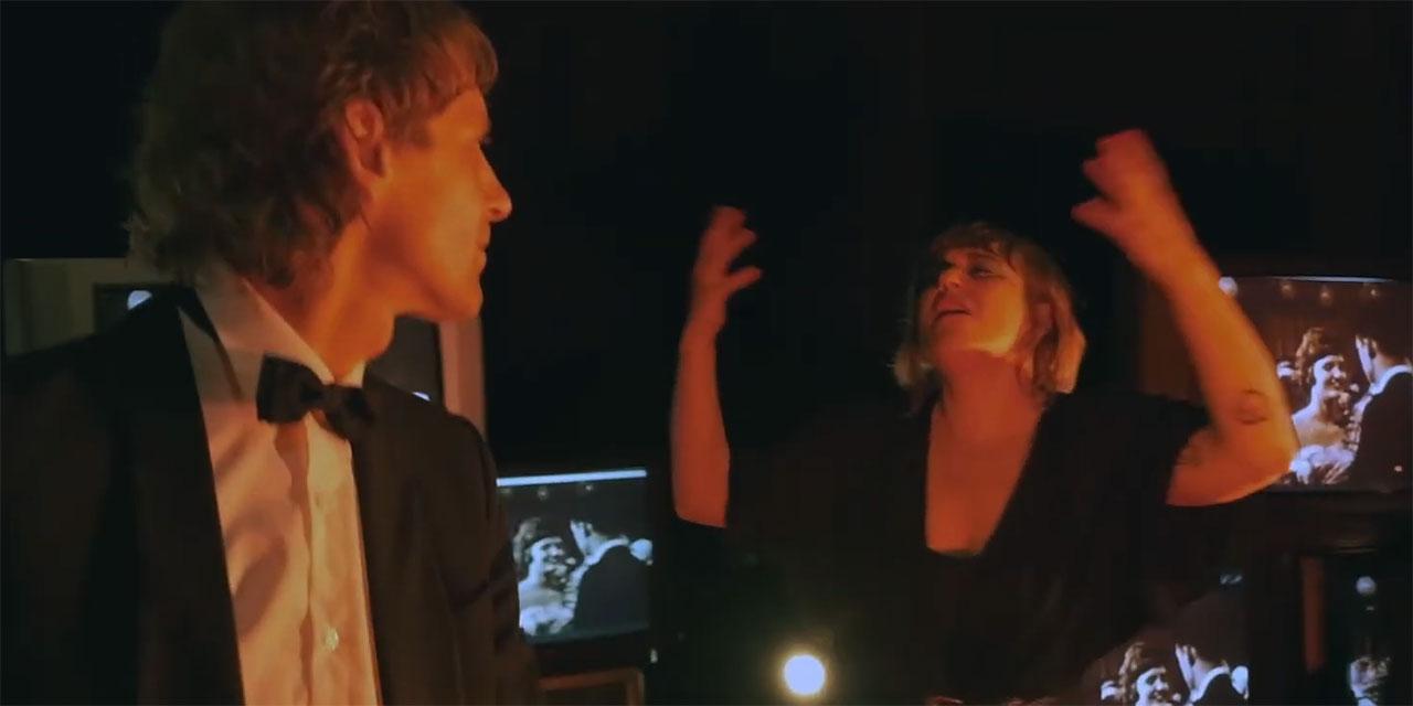 Voodoo Jürgens tanzt mit Kathi Trenk