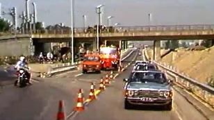 Eröffnung Ostautobahn