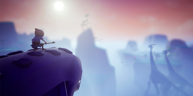 "Screenshots aus dem Game ""Omno"""