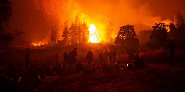 Brände in Griechenland