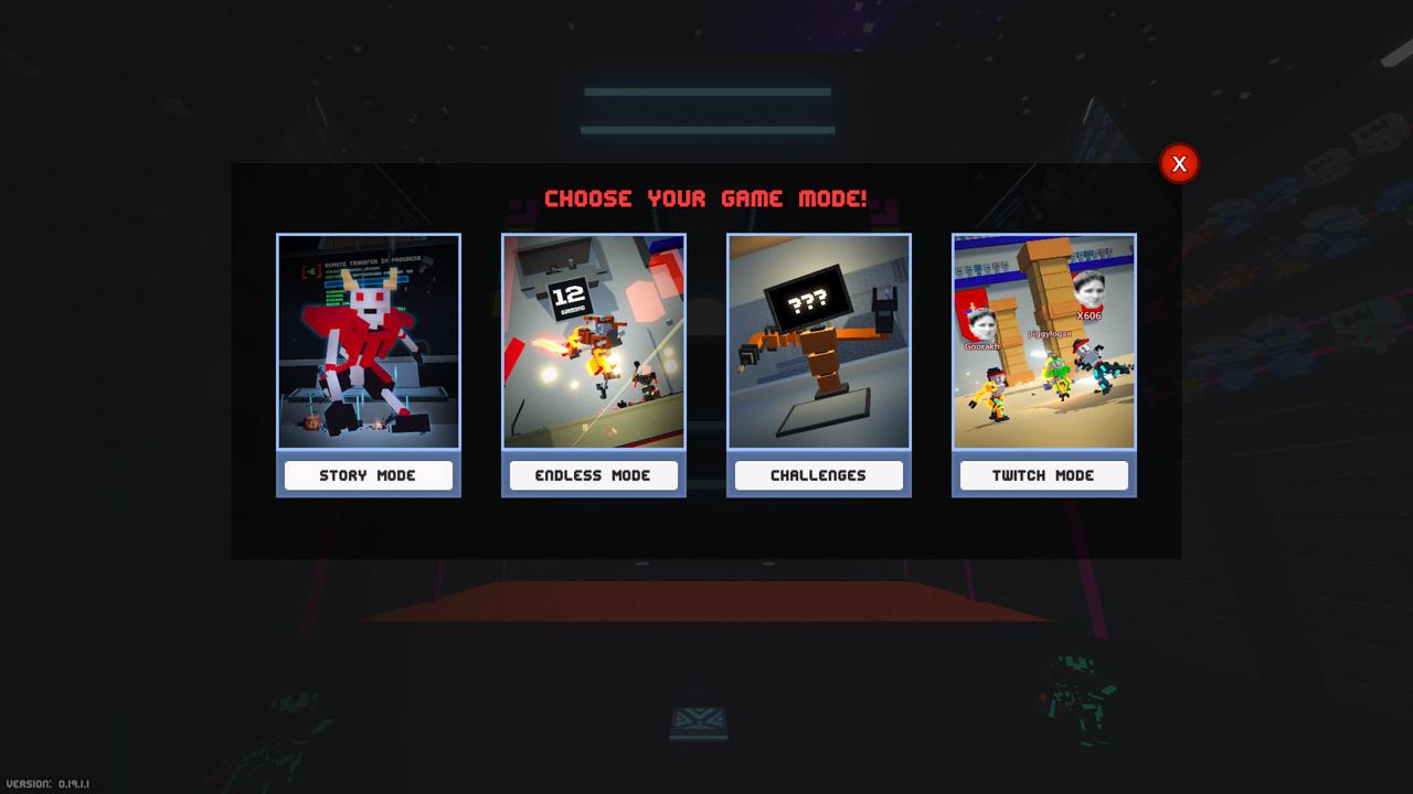 Screenshot des Spiels Clone Drone in the Danger Zone