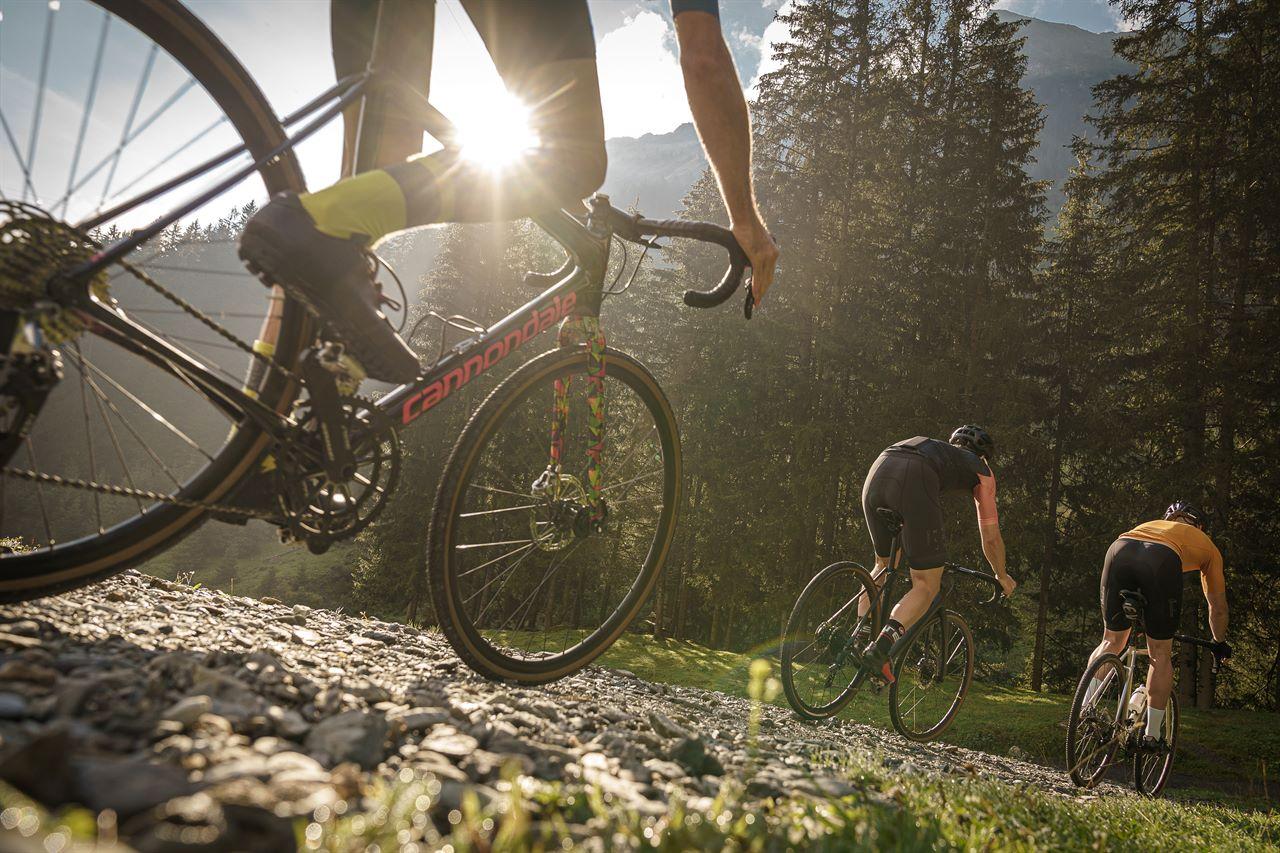 More riding of gravel bikes