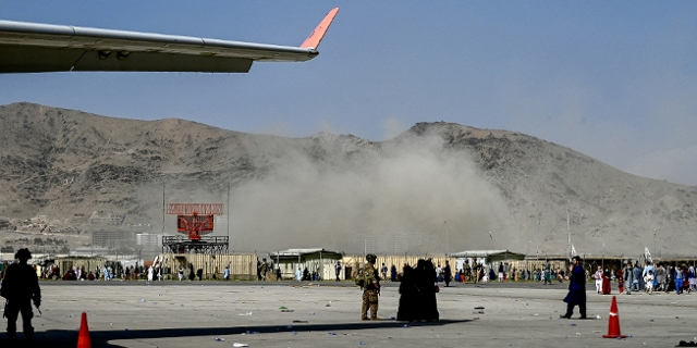 Dramatische Szenen am Kabuler Flughafen