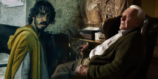 """Montage von Filmstills aus """"The Green Knight"""" und """"Father"""""""